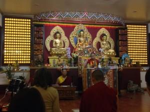 Учения Гарчена Ринпоче в Буддистском Центре Ринчен Чолинг