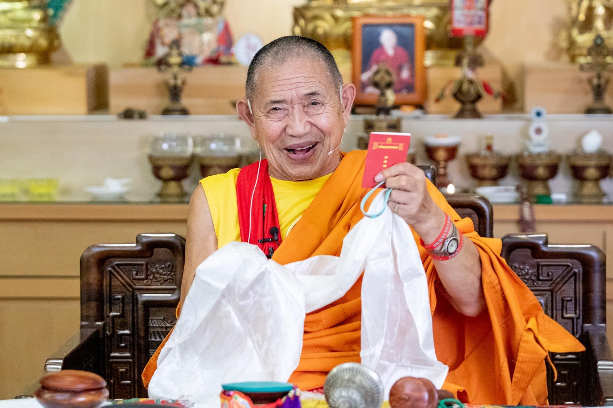 Ретрит Гарчена Ринпоче в Тайване продолжается 台灣噶千佛學會 Taiwan Garchen Dharma Institute 2019