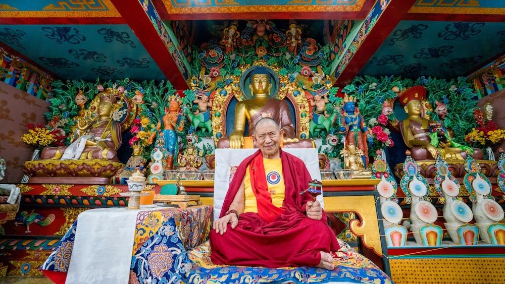 Ретрит Ушнишавиджайи и ритуал Теншук для долгой жизни Кьябдже Гарчена Ринпоче