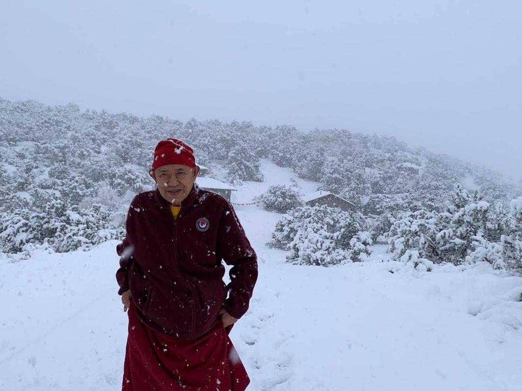 26 января, Буддийский Институт Гарчена в Аризоне