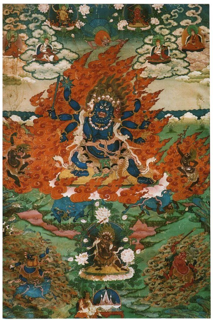 6–11 февраля 2021 Посвящение и ретрит Манджушри Ямантаки с Кьябдже Гарченом Ринпоче