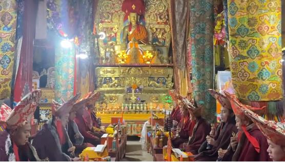 Празднование Лосара в Монастыре Гар (Тибет)!